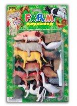 Speelgoed set boerderij 26 stuks