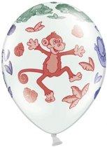 Dierentuin dieren ballonnen 6 stuks - feest versiering