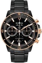 BULOVA - Horloge - Mannen - Zwart Ø 45 98B302