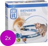 Catit Senses Play Circuit - Kattenspeelgoed - 2 x per stuk