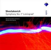 """Shostakovich: Symphony no 7 """"Leningrad"""" / Mstislav Rostropovich, NSO"""