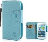 Samsung Galaxy S Duos Hoesje Blauw