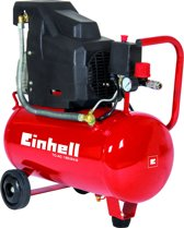Einhell TC-AC 190/24/8 Compressor - 8 bar - 24 liter tankinhoud
