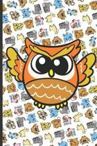 Owl and Friends Notebook