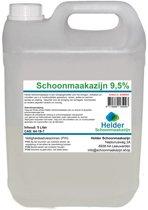 Schoonmaakazijn 9,5% / 5 liter