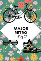 Major Retro: Small Lined Novelty Notebook