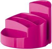 Pennenbak HAN Rondo 9-vaks New Colours roze