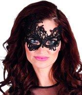 24 stuks: Masker Masquerade - Kanten