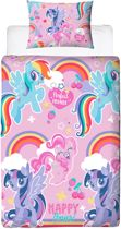 My Little Pony dekbedovertrek - 1 persoons - MLP dekbed