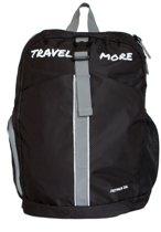 TravelMore Daypack 20 Liter – Opvouwbare Rugzak voor Backpacken, Hiken & Reizen – Dagrugzak - Wild Rover Black