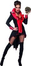 Duivel Kostuum | Develish Lady On Fire Vrouw | Maat 48 | Halloween | Verkleedkleding
