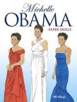 Boekomslag van 'Michelle Obama Paper Dolls'