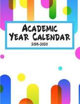 Academic Year Calendar 2019-2020: School Year Organizer