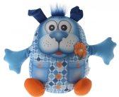 Eddy Toys Dierenvriend Knuffel Hond 20 Cm Blauw