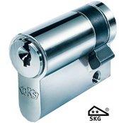 BKS halve cilinder 27/10 SKG **