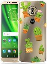 Moto G6 Play hoesje Happy Cactus
