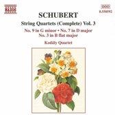Schubert:String Quartets Vol.3