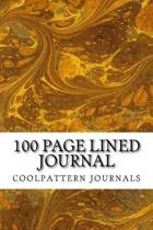 100 Page Lined Journal