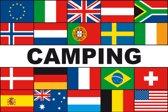 Meerlandenvlag camping - 150 x 225 cm - Glanspolyester
