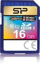 Silicon Power 16GB SDHC flashgeheugen Klasse 10 UHS
