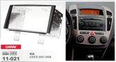 2-DIN frame AUTORADIO Kit KIA CEE'D 2007-2009