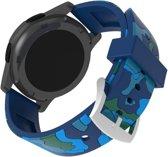 watchbands-shop.nl bandje - Samsung Galaxy Watch (46mm)/Gear S3 - Blauw
