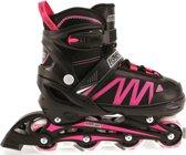 Alert Inline Skates Zwart/Roze Maat 35-38