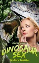 Dinosaur Sex: 3 Story Bundle (Monster Sex Gangbang Erotica Collection)