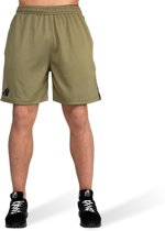Gorilla Wear Reydon Mesh Shorts - Army Green - L