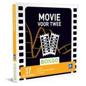 Bongo Bon Nederland - Movie voor Twee Cadeaubon - Cadeaukaart cadeau voor koppels | 17 bioscopen