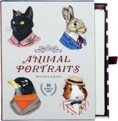 Berkley Bestiary Animal Portrait Greeting Card Assortment