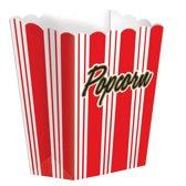 Amscan Popcornbakjes Hollywood 8 Stuks 13,3 Cm
