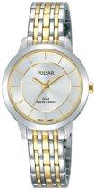Pulsar PH8369X1 horloge dames - zilver en goud - edelstaal