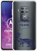 Motorola One Zoom Hoesje Life is too Short