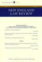 New England Law Review: Volume 50, Number 2 - Winter 2016