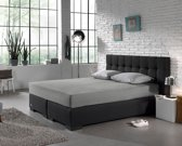 Home Care Supreme - Hoeslaken - Jersey - Tweepersoons - 140 x 200 cm - Creme