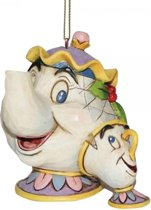 Disney beeldje - Traditions collectie - kerstboomhanger - Traditions collectie - Mrs Potts & Chip