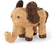 Mand olifant vorm thema dieren cadeaus thema dieren cadeaus tuindecoratie balkondecoratie