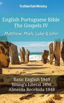 English Portuguese Bible - The Gospels IV - Matthew, Mark, Luke & John