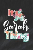 It's Sarah Thing