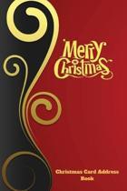 Christmas Card Address Book