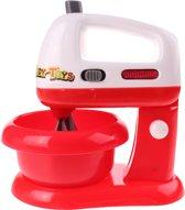 Eddy Toys Mixer Met Verlichting 17 Cm Wit/rood
