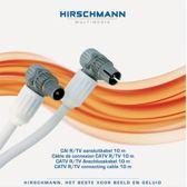 Hirschmann FEKAB - Coax Kabel - 10 meter