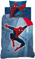 Spider-Man Tower reversable - Dekbedovertrek - Eenpersoons - 140 x 200 cm - Multi