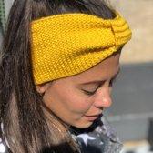 Bohemida - Dames Winter -One Size - Haarband Oker