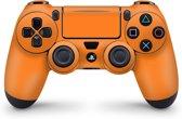 Playstation 4 Controller Skin Oranje- PS4 Controller Sticker