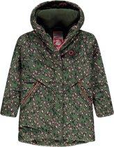 Tumble 'N Dry Meisjes Winterjas Kadia - Green Army - Maat 116