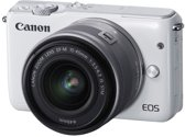 Canon EOS M10 + 15-45mm IS STM - Wit