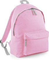 BagBase Backpack Rugzak BG125J - 14 l - Classic Pink - Lichtgrijs