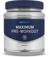 Body & Fit Maximum Pre-Workout - 530 gram - Raspberry